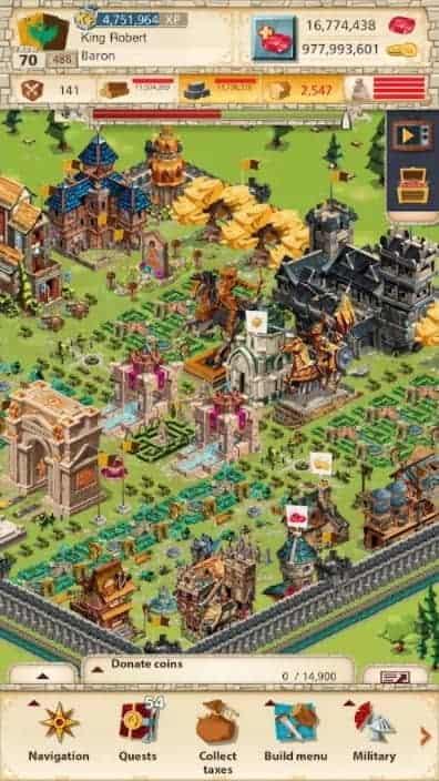 Empire Four Kingdoms MOD APK Latest Version