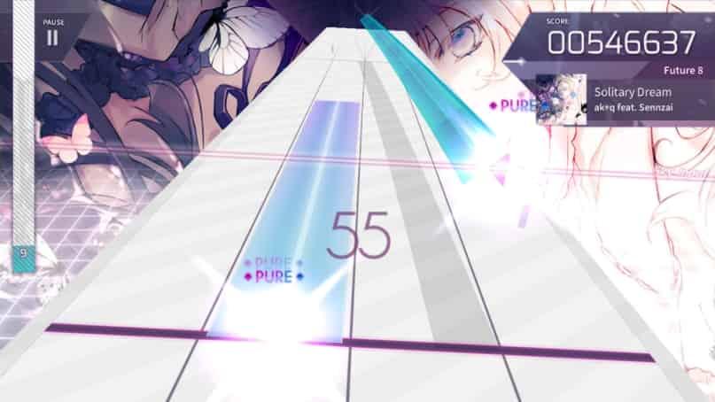 Arcaea Rhythm Game