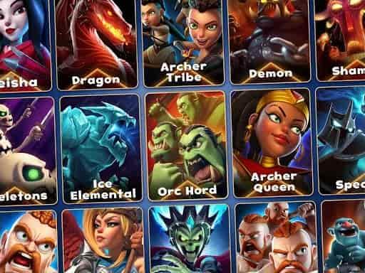 Castle Crush All cards Unlocked