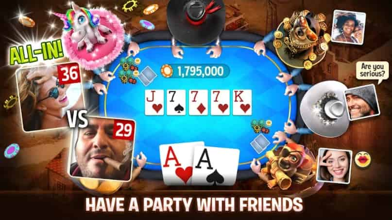 Governor of Poker 3 APK Unlimited Chips