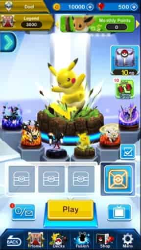 Pokémon Duel Win All The Tackles