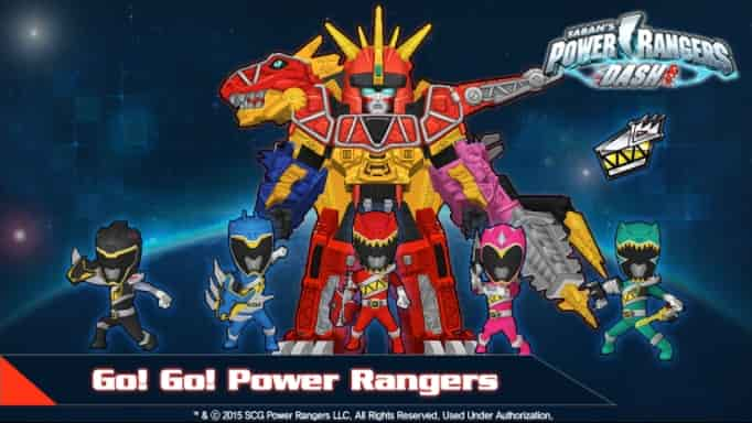 Power Rangers Dash APK Unlimited Gems
