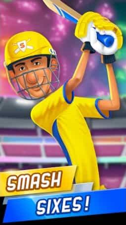 Stick Cricket Super League MOD limited  Money