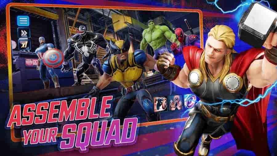 Marvel Strike Force Mod Apk God Mode