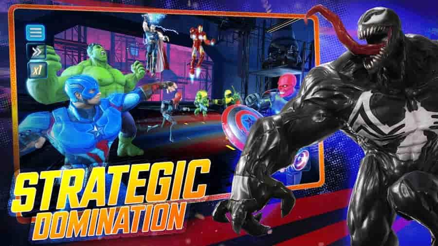 Marvel Strike Force Mod Apk Unlimited All