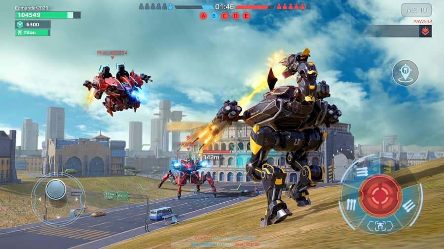 War Robots MOD APK free Shopping