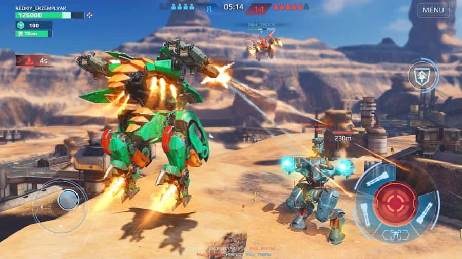War Robots MOD APK Unlimited Gold
